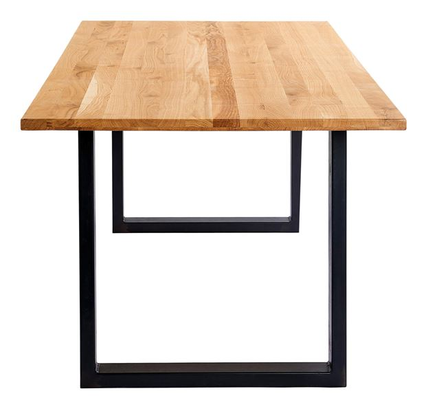 OAK Table brun H 75 x Larg. 95 x Long. 200 cm_oak-table-brun-h-75-x-larg--95-x-long--200-cm