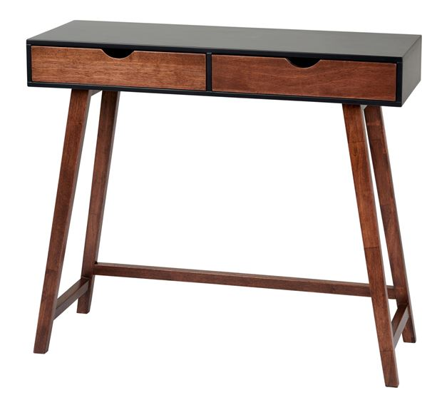 DRACO Table murale brun H 78 x Larg. 30 x Long. 90 cm_draco-table-murale-brun-h-78-x-larg--30-x-long--90-cm