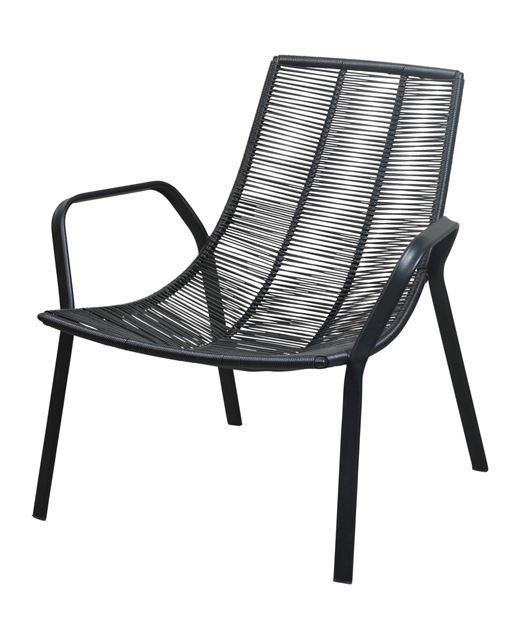 ROPE Chaise lounge noir H 73 x Larg. 78 x P 76 cm_rope-chaise-lounge-noir-h-73-x-larg--78-x-p-76-cm
