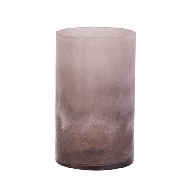 CRACKLE Vaso marrone H 20 cm; Ø 12 cm_crackle-vaso-marrone-h-20-cm;-ø-12-cm