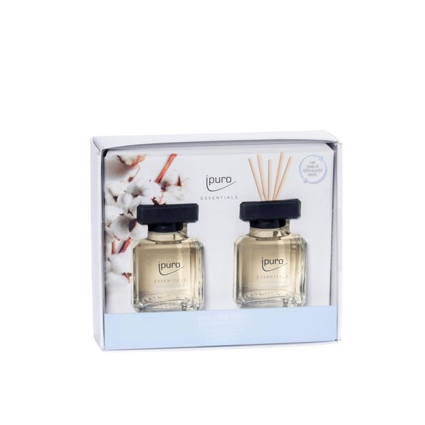 IPURO Giftset cotton transparant_ipuro-giftset-cotton-transparant
