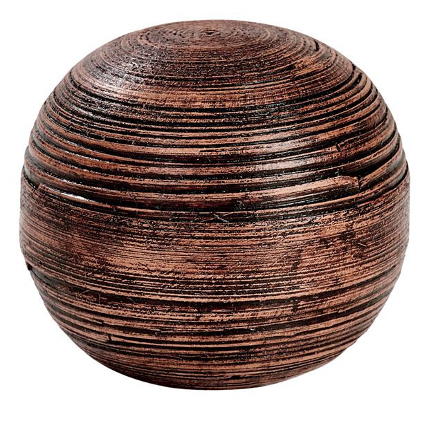 KYO Sfera decorativa marrone Ø 10 cm_kyo-sfera-decorativa-marrone-ø-10-cm