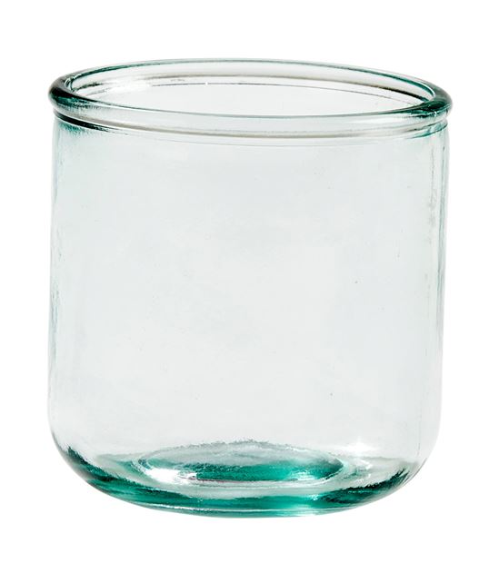 RECYCLE Verre transparent H 9 cm; Ø 9 cm_recycle-verre-transparent-h-9-cm;-ø-9-cm
