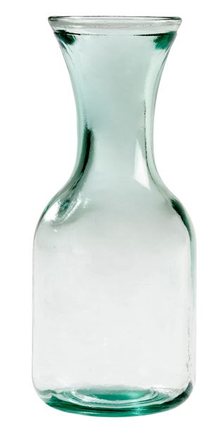 RECYCLE Carafe transparent H 26 cm; Ø 10 cm_recycle-carafe-transparent-h-26-cm;-ø-10-cm