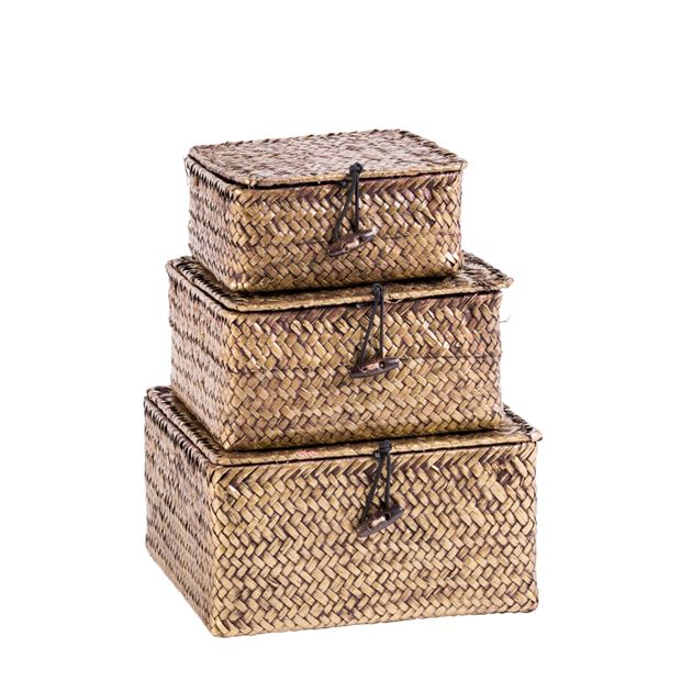 GOLD SEA Cesta de almacenaje natural A 5 x An. 14 x P 14 cm_gold-sea-cesta-de-almacenaje-natural-a-5-x-an--14-x-p-14-cm