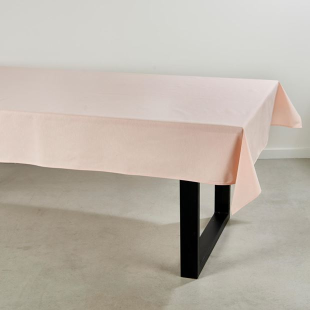 UNILINE Nappe rose clair Larg. 138 x Long. 250 cm_uniline-nappe-rose-clair-larg--138-x-long--250-cm
