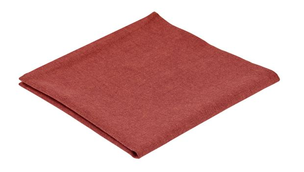 ORGANIC Serviette rouge Larg. 40 x Long. 40 cm_organic-serviette-rouge-larg--40-x-long--40-cm