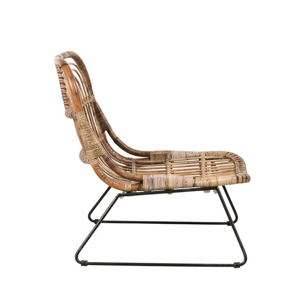 INDO Chaise lounge naturel H 72 x Larg. 69 x P 59 cm_indo-chaise-lounge-naturel-h-72-x-larg--69-x-p-59-cm