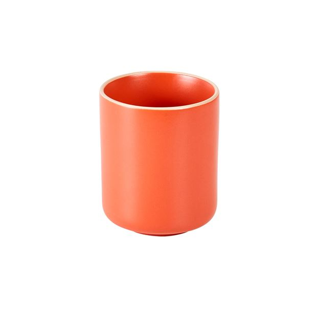 ELEMENTS Mug orange H 10 cm; Ø 7,8 cm_elements-mug-orange-h-10-cm;-ø-7,8-cm