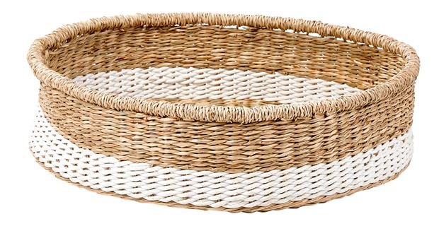 IXIA Panier de table blanc, naturel H 10 cm; Ø 39 cm_ixia-panier-de-table-blanc,-naturel-h-10-cm;-ø-39-cm