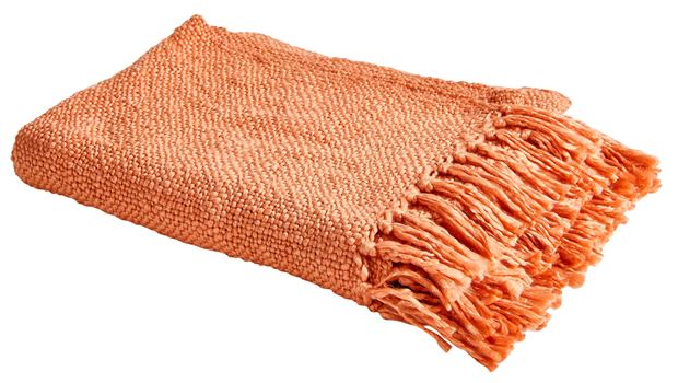 DALILAH Plaid orange Larg. 125 x Long. 150 cm_dalilah-plaid-orange-larg--125-x-long--150-cm