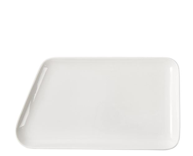 POINT. Assiette blanc Larg. 33.4 x Long. 18.6 cm_point--assiette-blanc-larg--33-4-x-long--18-6-cm