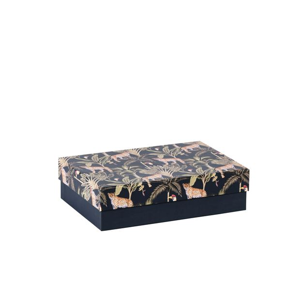 JUNGLE Jungle boîte multicolore H 5 x Larg. 19 x P 13 cm_jungle-jungle-boîte-multicolore-h-5-x-larg--19-x-p-13-cm