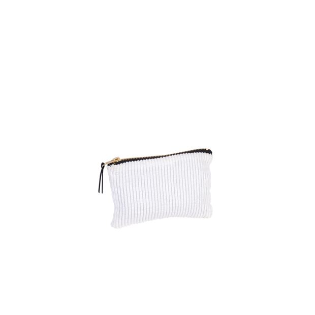 RIBBA Trousse de maquillage blanc Larg. 10,5 x Long. 16,5 cm_ribba-trousse-de-maquillage-blanc-larg--10,5-x-long--16,5-cm