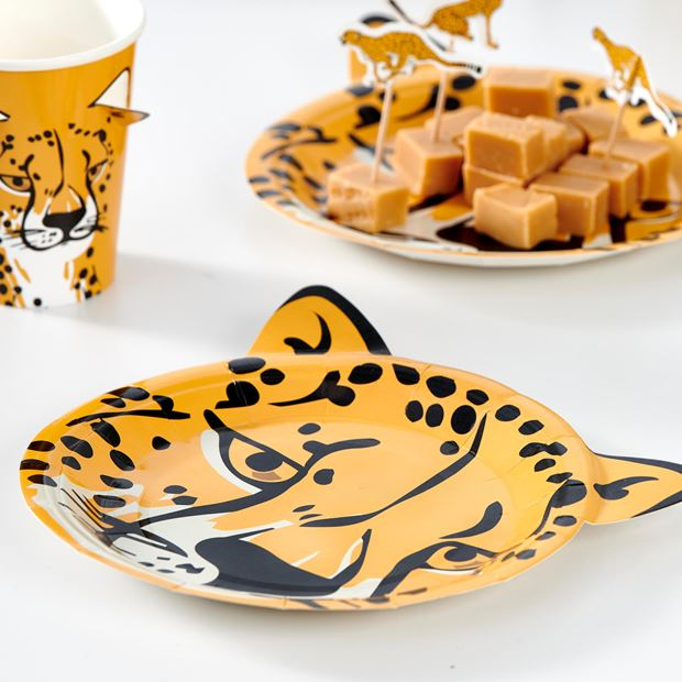 CHEETAH Assiettes set de 10 orange Ø 18 cm_cheetah-assiettes-set-de-10-orange-ø-18-cm