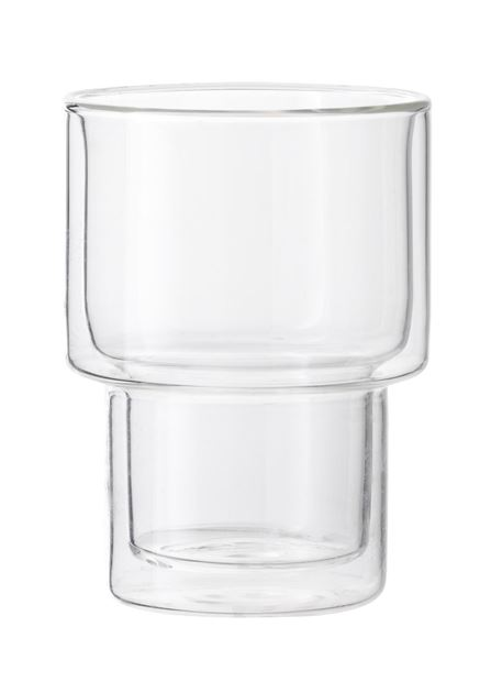FIKA Mug double paroi set de 2 transparent H 11 cm; Ø 7,7 cm_fika-mug-double-paroi-set-de-2-transparent-h-11-cm;-ø-7,7-cm