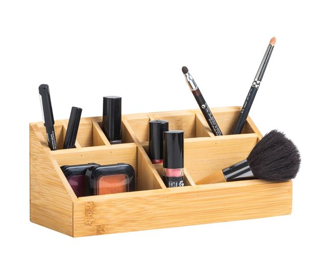 ORGANOO Make-up organiser naturel H 9.5 x B 23 x D 9 cm_organoo-make-up-organiser-naturel-h-9-5-x-b-23-x-d-9-cm