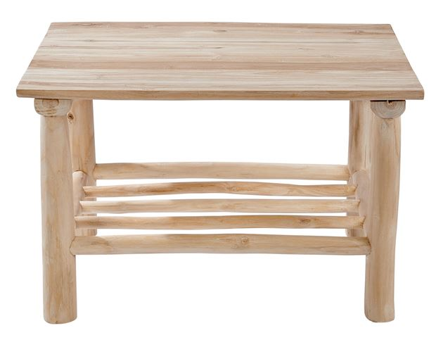 TEAK Table lounge naturel H 45 x Long. 70 x P 50 cm_teak-table-lounge-naturel-h-45-x-long--70-x-p-50-cm