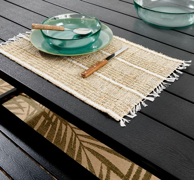BEACH WH Placemat wit, naturel H 33 x B 48 cm_beach-wh-placemat-wit,-naturel-h-33-x-b-48-cm
