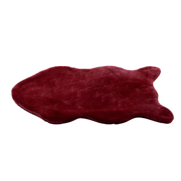 FAKE RABBIT Tapis brun Larg. 60 x Long. 90 cm_fake-rabbit-tapis-brun-larg--60-x-long--90-cm