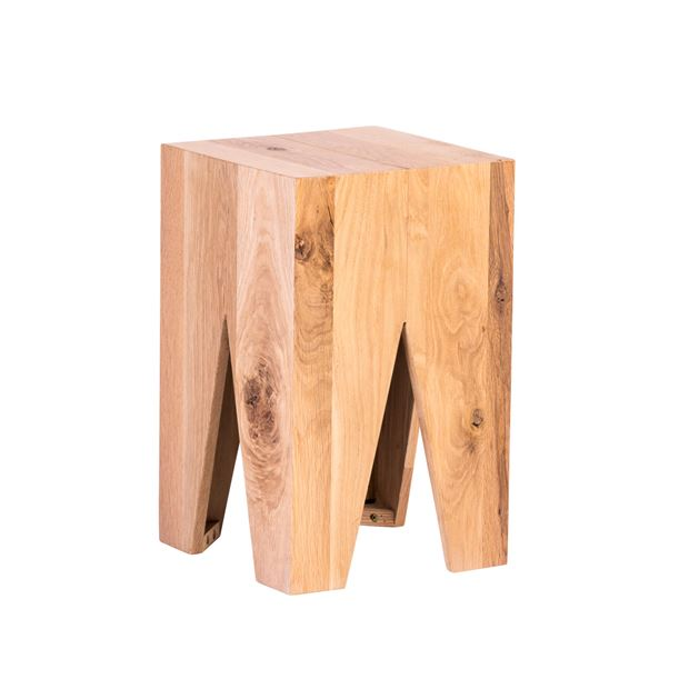 SIGUR Table d'appoint naturel H 45 x Larg. 28 x Long. 28 cm_sigur-table-d'appoint-naturel-h-45-x-larg--28-x-long--28-cm