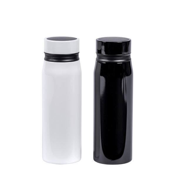LIFESTYLE Botella de doble pared 2 colores negro, blanco A 21,4 cm; Ø 8,5 cm_lifestyle-botella-de-doble-pared-2-colores-negro,-blanco-a-21,4-cm;-ø-8,5-cm
