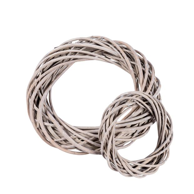 WILLOW Corona decorativa grigio H 4 cm; Ø 20 cm_willow-corona-decorativa-grigio-h-4-cm;-ø-20-cm