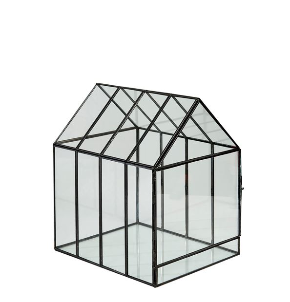 GREENHOUSE Mini serre transparent H 28 x Larg. 24 x P 20 cm_greenhouse-mini-serre-transparent-h-28-x-larg--24-x-p-20-cm