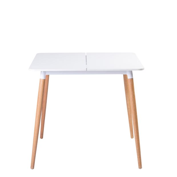 KALO Table blanc, naturel H 72 x Long. 80 x P 80 cm_kalo-table-blanc,-naturel-h-72-x-long--80-x-p-80-cm