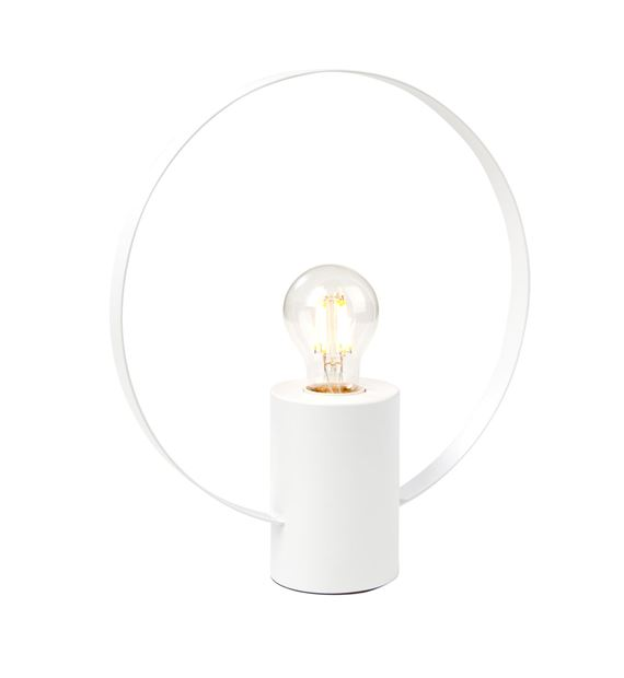 YOUNG Tischlampe Weiss H 31,5 cm; Ø 28 cm_young-tischlampe-weiss-h-31,5-cm;-ø-28-cm
