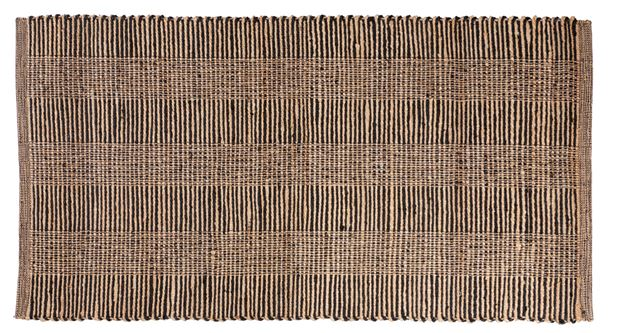 ETHNIC Alfombra negro, natural An. 80 x L 150 cm_ethnic-alfombra-negro,-natural-an--80-x-l-150-cm