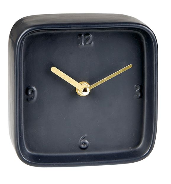 BLOCK Horloge de table noir H 13 x Larg. 13.5 x P 6.2 cm_block-horloge-de-table-noir-h-13-x-larg--13-5-x-p-6-2-cm