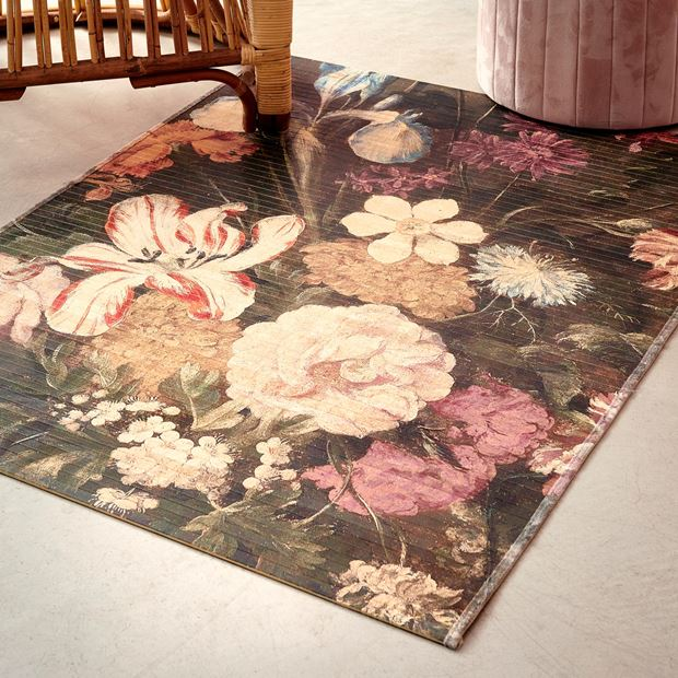 BOUQUET Tapis multicolore Larg. 90 x Long. 120 cm_bouquet-tapis-multicolore-larg--90-x-long--120-cm