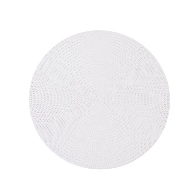DORA Set de table 2 couleurs noir, blanc Ø 38 cm_dora-set-de-table-2-couleurs-noir,-blanc-ø-38-cm