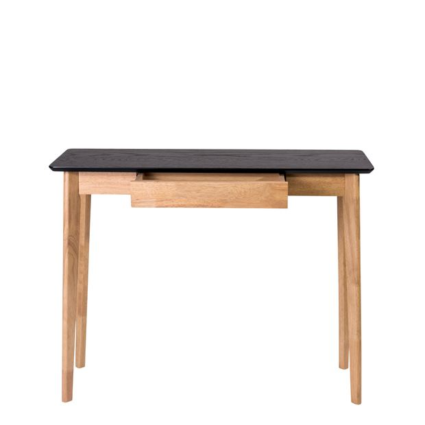 HERNING Mobile consolle nero, naturale H 85 x W 40 x L 110 cm_herning-mobile-consolle-nero,-naturale-h-85-x-w-40-x-l-110-cm