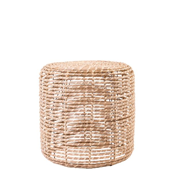 ALABAMA COCO Poef in- & outdoor naturel H 41 cm; Ø 41 cm_alabama-coco-poef-in---outdoor-naturel-h-41-cm;-ø-41-cm