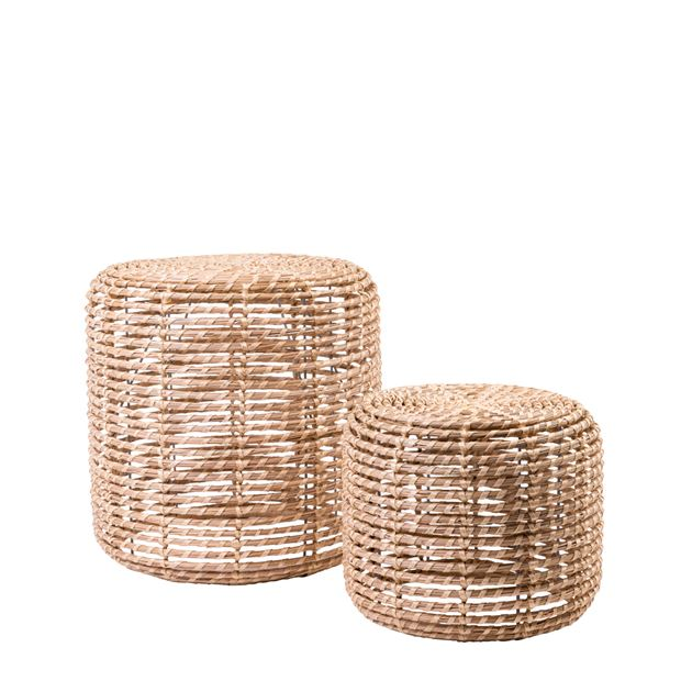 ALABAMA COCO Pouf indoor/outdoor naturel H 41 cm; Ø 41 cm_alabama-coco-pouf-indooroutdoor-naturel-h-41-cm;-ø-41-cm