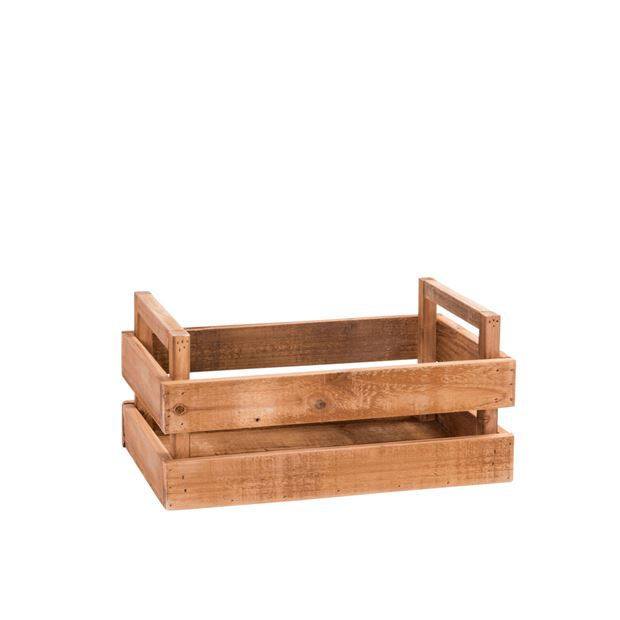 RECYCLE Caisse naturel H 13 x Larg. 37 x P 23 cm_recycle-caisse-naturel-h-13-x-larg--37-x-p-23-cm