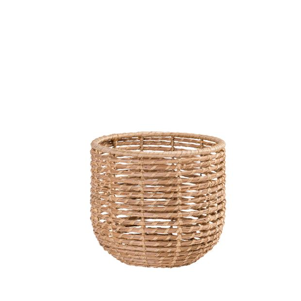ALABAMA COCO Mand in- & outdoor naturel H 26 cm; Ø 29 cm_alabama-coco-mand-in---outdoor-naturel-h-26-cm;-ø-29-cm