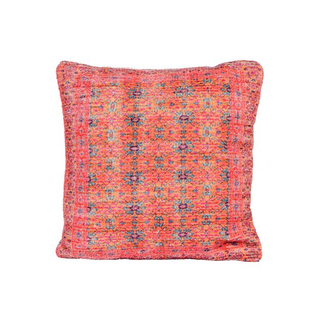 MADRAS Coussin multicolore Larg. 45 x Long. 45 cm_madras-coussin-multicolore-larg--45-x-long--45-cm