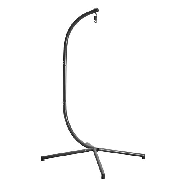 HOLDER Support pour chaise suspendue gris H 195 x Larg. 95 x Long. 95 cm_holder-support-pour-chaise-suspendue-gris-h-195-x-larg--95-x-long--95-cm