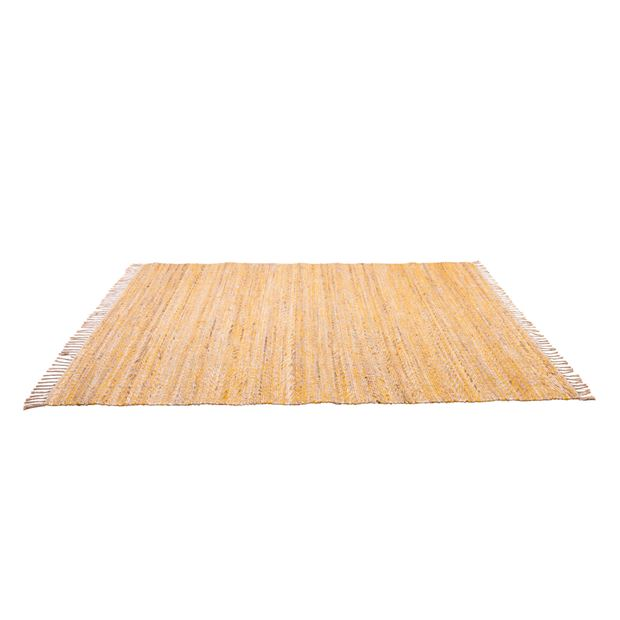 FISK Tapis jaune, naturel Larg. 160 x Long. 230 cm_fisk-tapis-jaune,-naturel-larg--160-x-long--230-cm