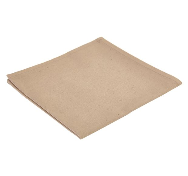 RECYCLE Serviette taupe Larg. 43 x Long. 43 cm_recycle-serviette-taupe-larg--43-x-long--43-cm