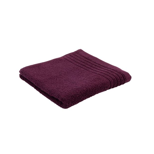 BIO SOFT Serviette de bain bordeaux Larg. 50 x Long. 100 cm_bio-soft-serviette-de-bain-bordeaux-larg--50-x-long--100-cm