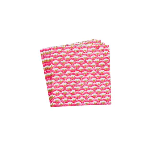 ACHETTI ROSA Set de 20 serviettes rouge Larg. 33 x Long. 33 cm_achetti-rosa-set-de-20-serviettes-rouge-larg--33-x-long--33-cm