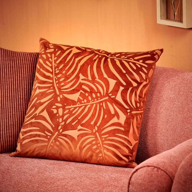 EXOTICO Coussin orange Larg. 45 x Long. 45 cm_exotico-coussin-orange-larg--45-x-long--45-cm