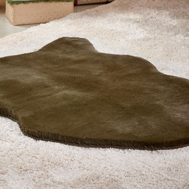 FAKE RABBIT Tapis vert Larg. 60 x Long. 90 cm_fake-rabbit-tapis-vert-larg--60-x-long--90-cm