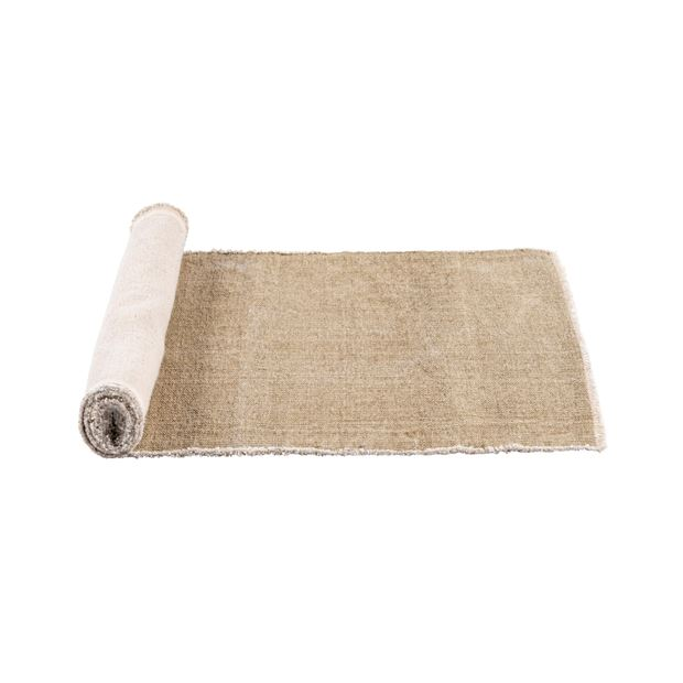 TUCKER Chemin de table beige Larg. 40 x Long. 140 cm_tucker-chemin-de-table-beige-larg--40-x-long--140-cm