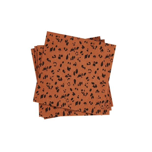 CAMOUFLAGE Set de 20 serviettes orange Larg. 33 x Long. 33 cm_camouflage-set-de-20-serviettes-orange-larg--33-x-long--33-cm