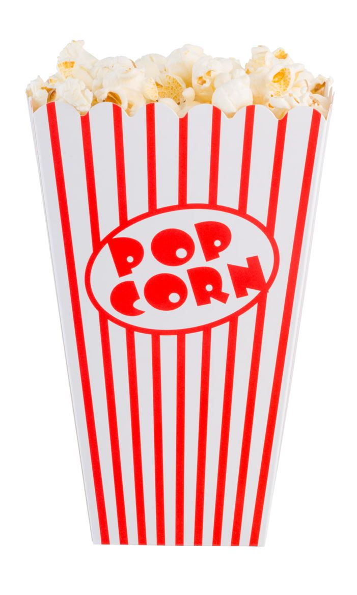 CINEMA Gobelet pop-corn set de 8 blanc, rouge H 16 x Larg. 10 x P 10 cm_cinema-gobelet-pop-corn-set-de-8-blanc,-rouge-h-16-x-larg--10-x-p-10-cm